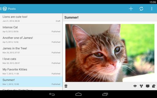 وردپرس screenshot
