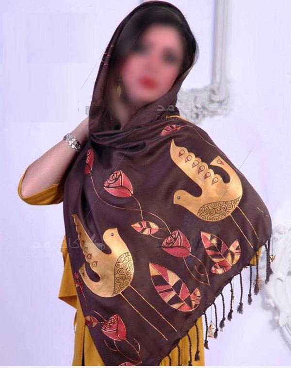 مدل شال زنانه و دخترانه با طراحی های خاص و زیبا از برند ایرانی گالری ماهور