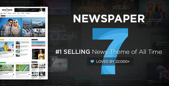 دانلود رایگان قالب خبری Newspaper ورژن 7 برای وردپرس