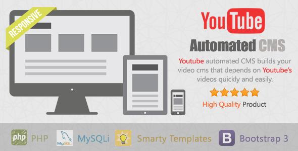 انتشار خودکار ویدئو های یوتیوب با YouTube Automated CMS v1.0.7