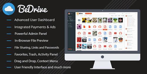 دانلود اسکریپت اشتراک گذاری فایل BeDrive v2.0.0