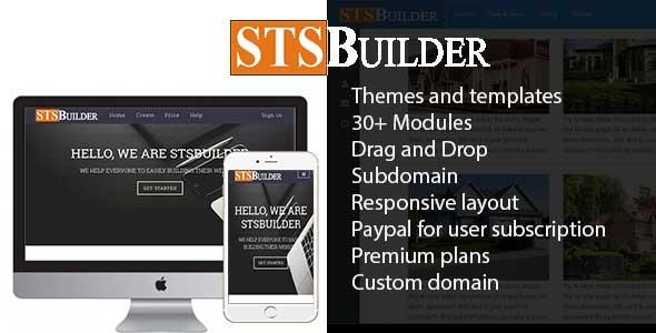 دانلود اسکریپت سایت ساز STSBuilder v2.0