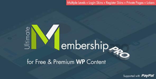 افزونه فارسی  و نال شده عضویت ویژه Ultimate Membership Pro وردپرس نسخه 3.7