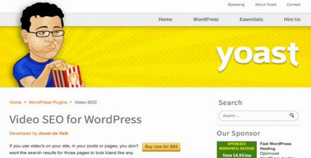 دانلود افزونه حرفه ای سئو ویدئو وردپرس Yoast Video SEO v4.0