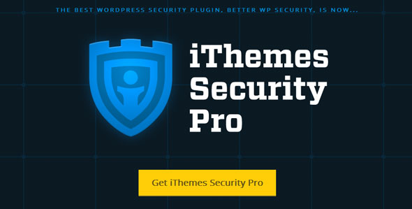 افزونه افزایش امنیت وردپرس iThemes - Security Pro v3.3.0