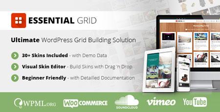 ساخت گرید در وردپرس با افزونه فارسی Essential Grid v2.1