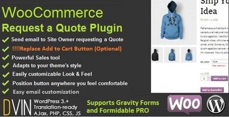 افزونه درخواست مظنه و قیمت ووکامرس ooCommerce Request a Quote v2.35