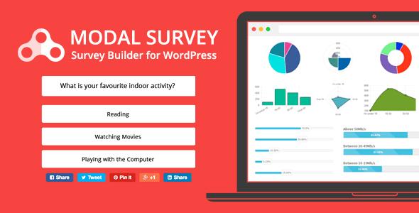 افزونه ایجاد نظرسنجی و مسابقه Modal Survey v1.9.6.1