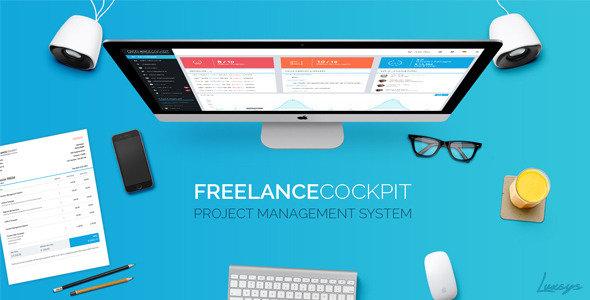 دانلود اسکریپت مدیریت پروژه  Freelance Cockpit v3.0