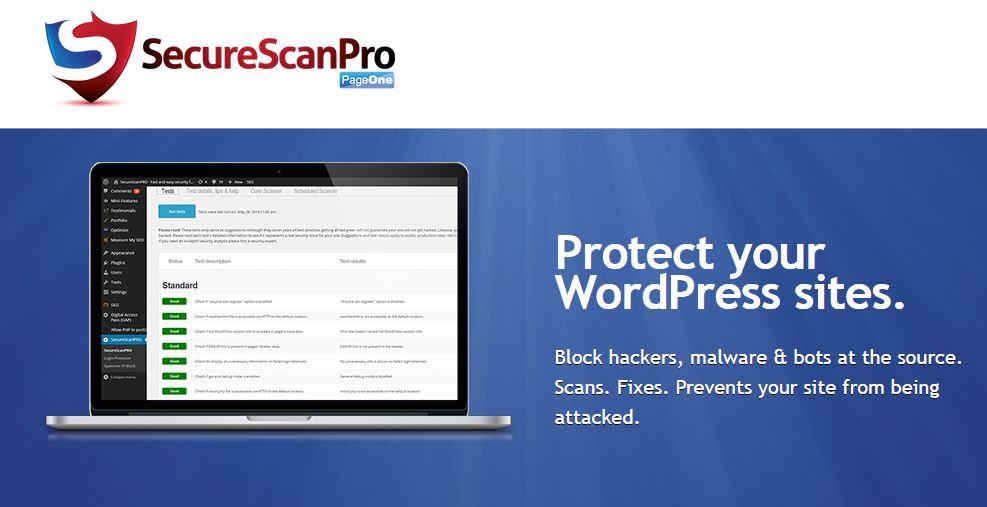 دانلود افزونه حرفه ای ایمن ساز وردپرس SecureScanPRO v1.96
