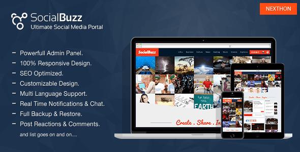 دانلود اسکریپت جامعه مجازی SocialBuzz v1.4