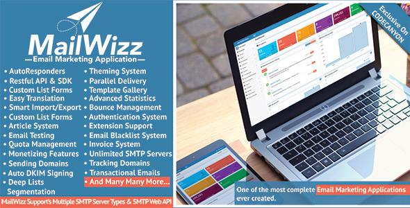 دانلود رایگان اسکریپت ایمیل مارکتینگ MailWizz v1.3.6.5