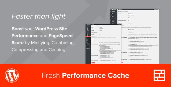 افزونه افزایش سرعت وردپرس Fresh Performance Cache v1.0.6