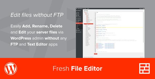 ایجاد ویرایشگر آنلاین فایل ها برای وردپرس با افزونه Fresh File Editor
