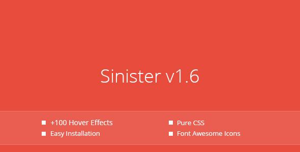 استایل های متنوع برای تصاویر با Sinister v1.6.4