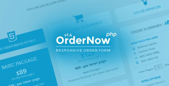 اسکریپت ایجاد و مدیریت فرمهای سفارش حرفه ای OrderNow v1.4