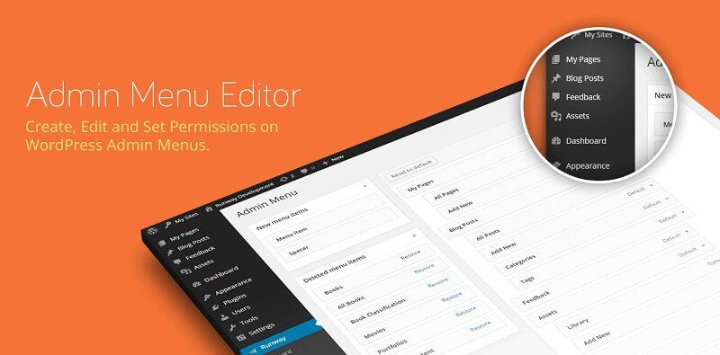 ویرایش منو های ادمین وردپرس با Admin Menu Editor Pro v2.3.1