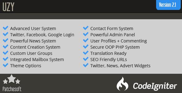 اسکریپت مدیریت کاربران  UZY v2.1