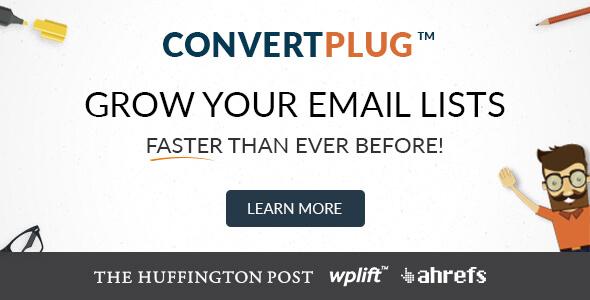 افزونه پاپ آپ حرفه ی و رایگان کانورت پلاگ ConvertPlug v2.3.1