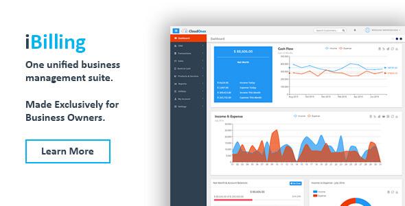 دانلود اسکریپت مدیریت صورتحساب  و حسابداری iBilling v4.3.0