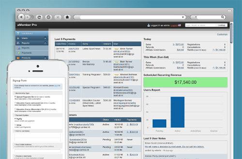 اسکریپت مدیریت و عضوگیری کاربران aMember Pro v5.1.3 - NULLED