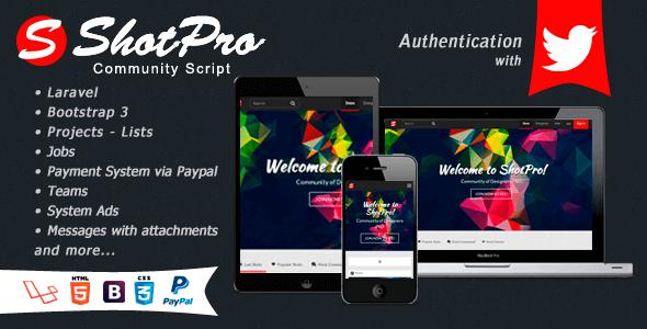 اشتراک گذاری تصاویر نمونه کارهای طراحی شده ShotPro Script v2.1