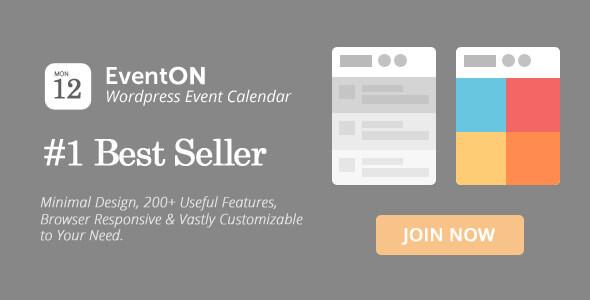 افزونه وردپرس تقویم رویداد ها EventOn v2.4.4
