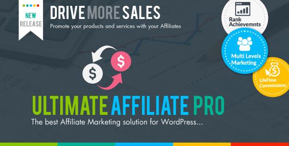 افزونه همکاری در فروش برای وردپرس  Ultimate Affiliate Pro v2.3
