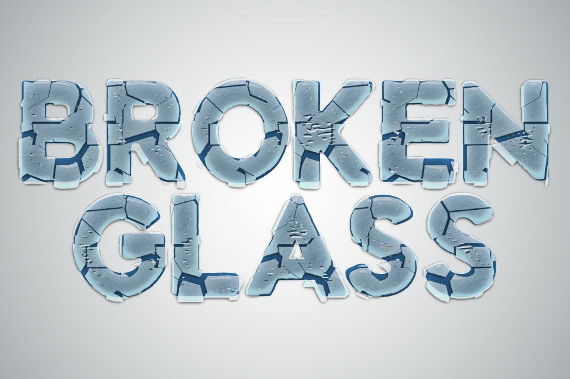 Actions شیشه شکسته در چند نوع