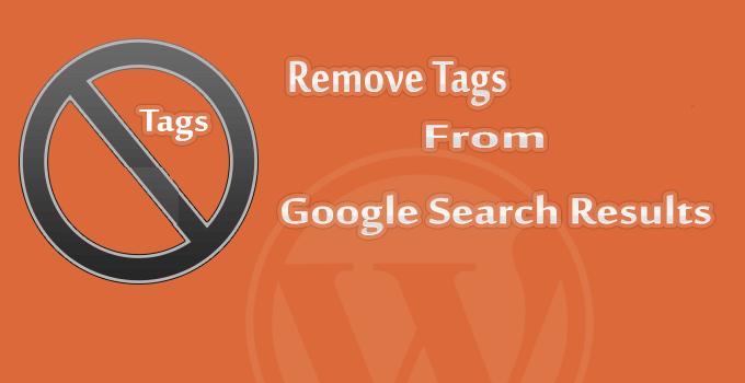 حذف همه برچسب های وردپرس از گوگل و وردپرس