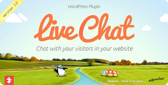افزونه فارسی چت و پشتیبانی برای وردپرس Live Chat v2.2.4