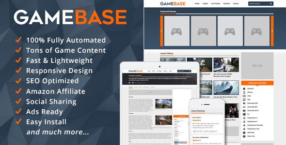 اسکریپت نقد و برسی بازی های ویدئو GameBase v1.3