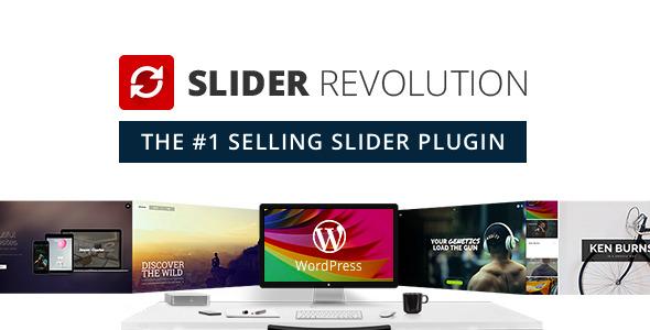 دانلود افزونه اسلایدر وردپرس Slider Revolution v5.3.1.5