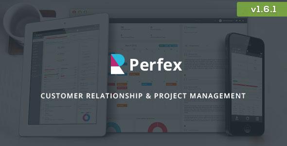 اسکریپت پشتیبانی و مدیریت کاربران  Perfex v1.6.1