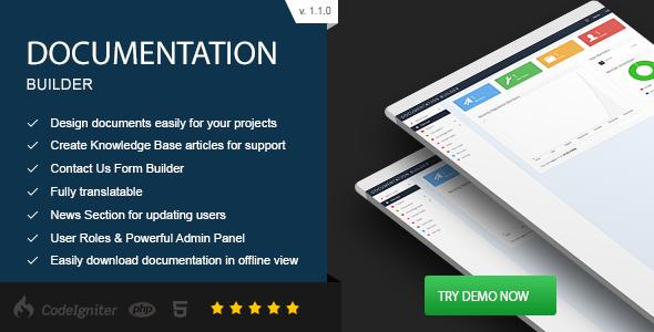 ساخت مستندات با اسکریپت Documentation Builder v1.1.0