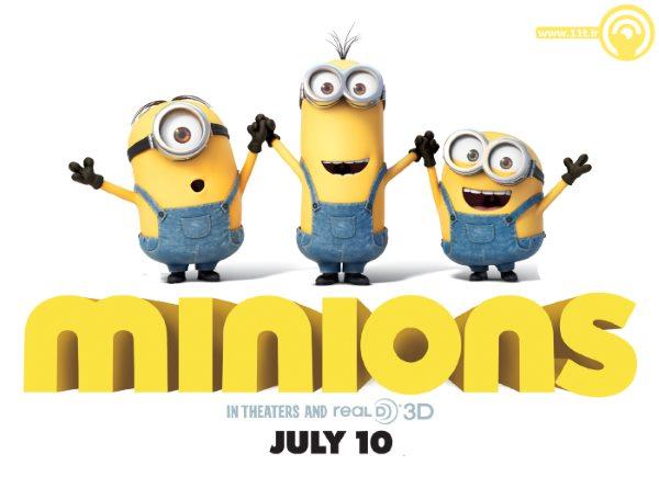 دانلود انیمیشن Minions محصول 2015